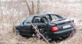 Wypadek na trasie Łomża - Mężenin [FOTO]