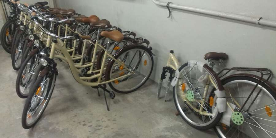 POLICJA, Szajka złodziei rowerów rozbita Ukradli rowerów - zdjęcie, fotografia