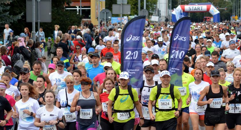 BIEGI, Ostatnie miejsc Półmaraton Philipsa - zdjęcie, fotografia