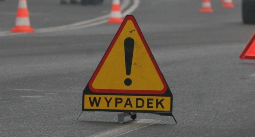 WYPADKI, Wypadek obwodnicy Piły ranni - zdjęcie, fotografia