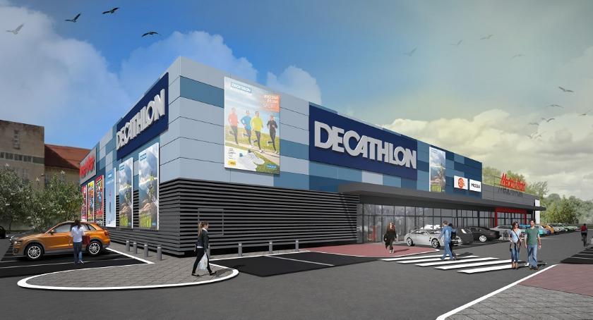 BIZNES I PRACA, centrum handlowe Będzie Media Markt Decathlon [WIZUALIZACJE] - zdjęcie, fotografia