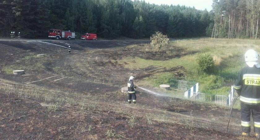 POŻARY, Dwóch nastolatków podtruło dymem Próbowali ugasić pożar - zdjęcie, fotografia