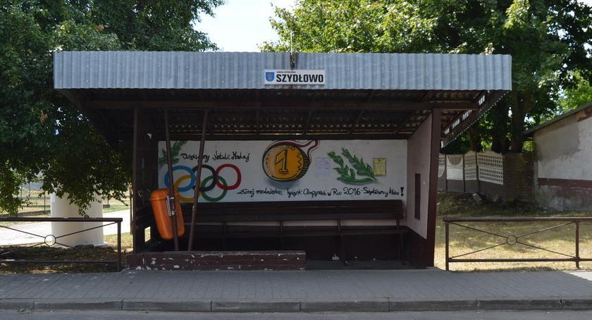 """POWIAT PILSKI, Olimpijski przystanek """"Dziękujemy Natalii Madaj"""" [ZDJĘCIA] - zdjęcie, fotografia"""