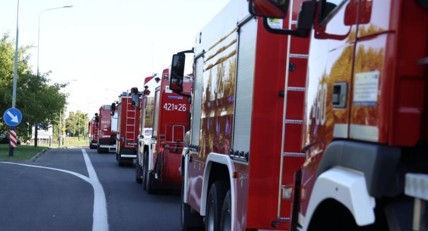 STRAŻ POŻARNA, Strażacy Piły regionu pomagają gasić pożary lasów Szwecji [ZDJĘCIA] - zdjęcie, fotografia