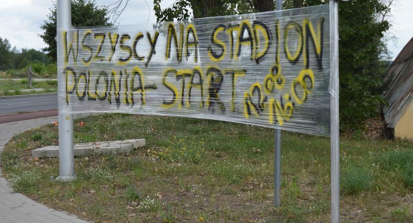ŻUŻEL, Kibice mobilizują przed meczem Polonii Startem Gniezno bilety! - zdjęcie, fotografia