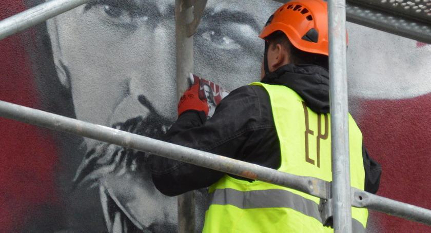 PIŁA, Kolejny patriotyczny mural [ZDJĘCIA] - zdjęcie, fotografia