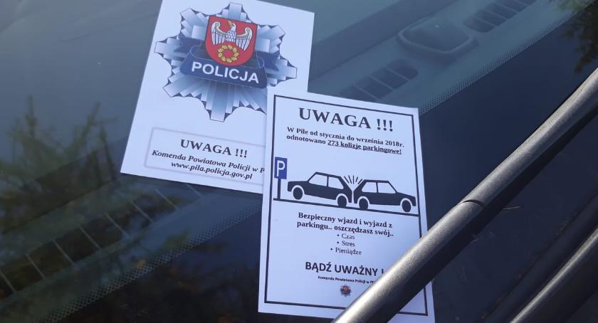 POLICJA, Prawie trzysta kolizji parkingowych dziewięć miesięcy - zdjęcie, fotografia
