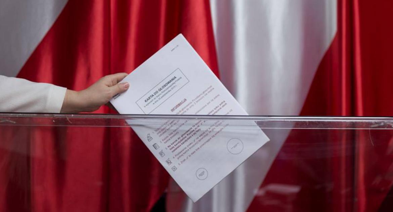 WYBORY 2018, Piła wyborach - zdjęcie, fotografia