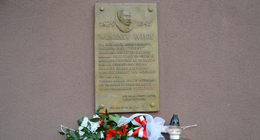 POLITYKA, Ludowcy upamiętnili Witosa - zdjęcie, fotografia
