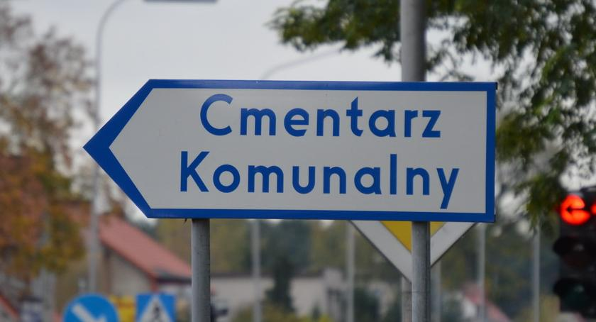 WSZYSTKICH ŚWIĘTYCH 2018, Organizacja ruchu wokół cmentarza - zdjęcie, fotografia