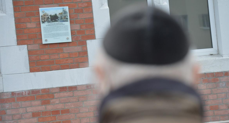 """PIŁA, """"Przywracanie pamięci"""" spaleniu Synagogi [ZDJĘCIA] - zdjęcie, fotografia"""