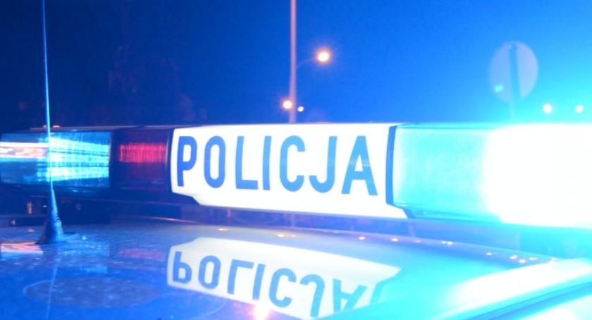 WYPADKI, Policja szuka świadków wypadku - zdjęcie, fotografia