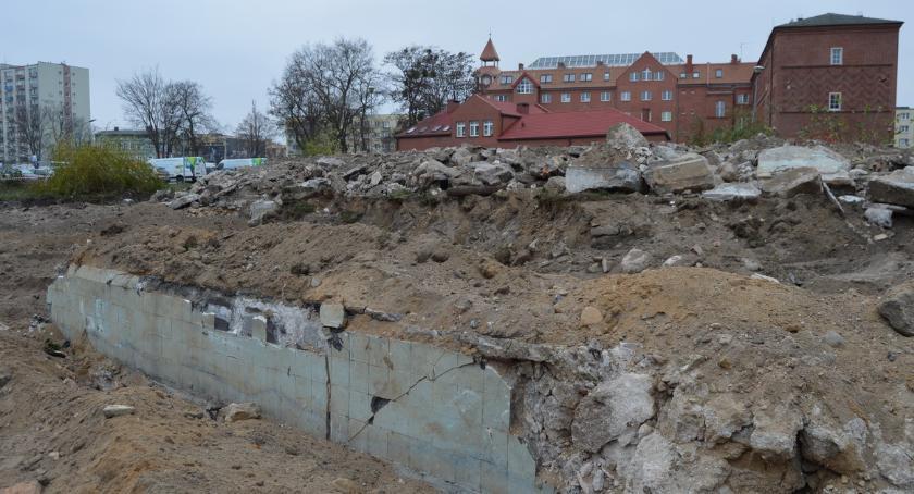BIZNES I PRACA, Rusza budowa hotelu centrum Piły [ZDJĘCIA] - zdjęcie, fotografia
