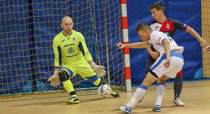 FUTSAL, niedzielę czwartej kolejki Futsalu - zdjęcie, fotografia