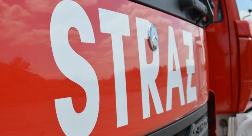 STRAŻ POŻARNA, tragedii Koszalinie strażacy kontrolują Escape - zdjęcie, fotografia