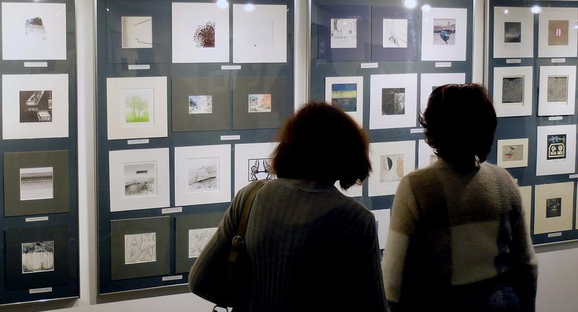 WYSTAWY, Mała wielka sztuka Międzynarodowe Biennale Miniatury [ZDJĘCIA] - zdjęcie, fotografia