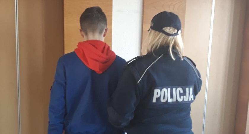 POLICJA, Sprawcy alarmu bombowego zatrzymani Mają - zdjęcie, fotografia