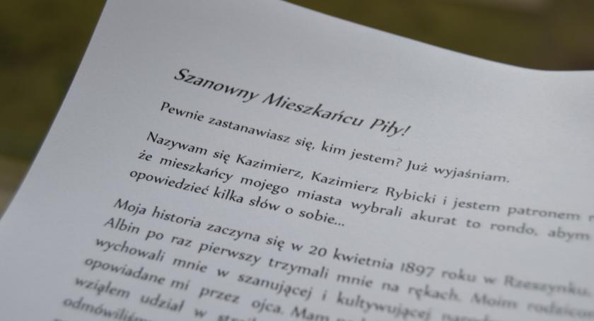 PIŁA, Listy bohatera mieszkańców Piły - zdjęcie, fotografia