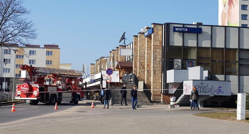POLICJA, Kolejny alarm bombowy Ewakuacja hotelu Gromada - zdjęcie, fotografia