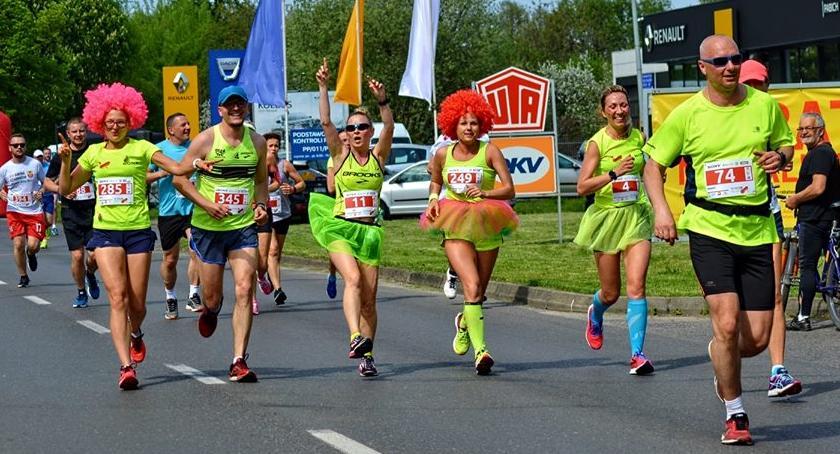 BIEGI, trasa termin nazwa Zmiany Ćwierćmaratonie Muzycznym - zdjęcie, fotografia
