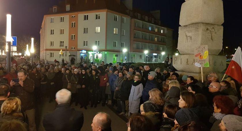 STRAJK SZKOLNY 2019, poparcia nauczycieli [ZDJĘCIA] - zdjęcie, fotografia