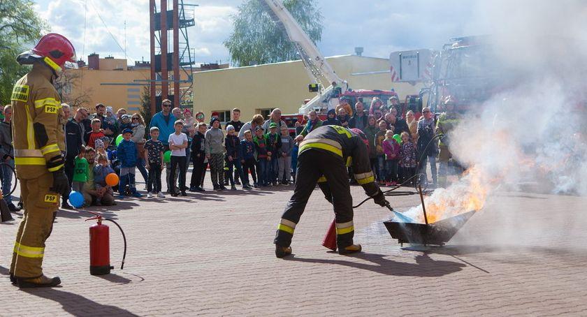 STRAŻ POŻARNA, Dzień strażakami [ZDJĘCIA] - zdjęcie, fotografia