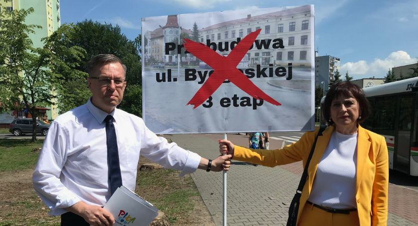 """KOMUNIKACJA, będzie rządowej dotacji remont Bydgoskiej """"To decyzja polityczna"""" - zdjęcie, fotografia"""