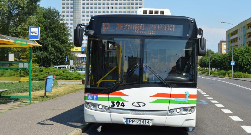 KOMUNIKACJA, Autobusem Płotki uruchamia sezonową linię jezioro - zdjęcie, fotografia