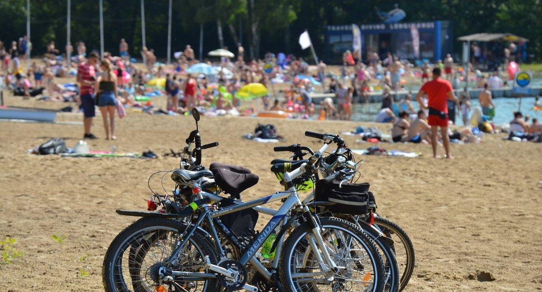 PIŁA, pilskich kąpieliskach Dyżury ratowników opłaty wjazd Płotki [ZDJĘCIA] - zdjęcie, fotografia