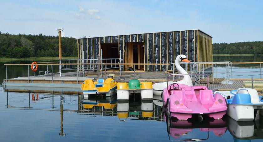 PIŁA, Płotkach powstaje platforma nurkowa niepełnosprawnych [ZDJĘCIA] - zdjęcie, fotografia