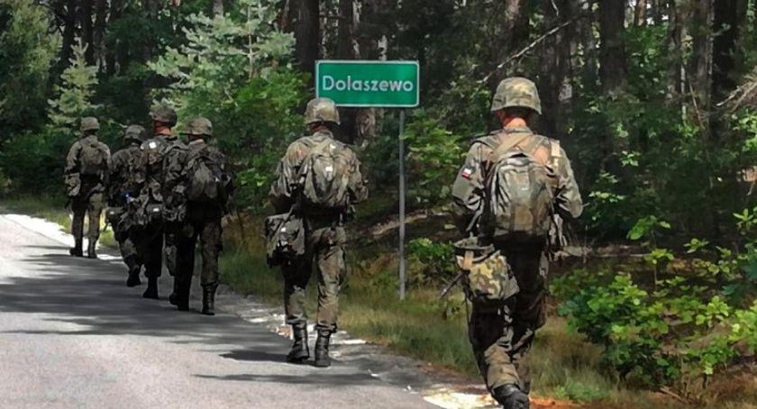 POWIAT PILSKI, Terytorialsi ćwiczyli Dolaszewie [ZDJĘCIA] - zdjęcie, fotografia