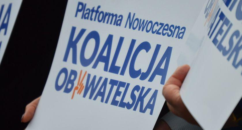 WYBORY PARLAMENTARNE 2019, Znamy pierwszą trójkę Koalicji Obywatelskiej wybory Sejmu Piły - zdjęcie, fotografia