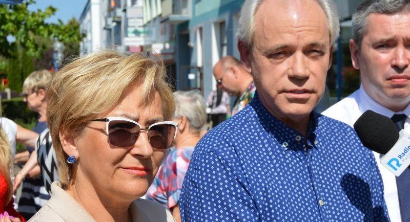 """WYBORY PARLAMENTARNE 2019, Szejnfeld """"Idziemy wyborów żeby przywrócić praworządność"""" - zdjęcie, fotografia"""