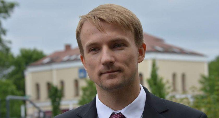 WYBORY PARLAMENTARNE 2019, Błażej Parda liście Koalicji Polskiej - zdjęcie, fotografia