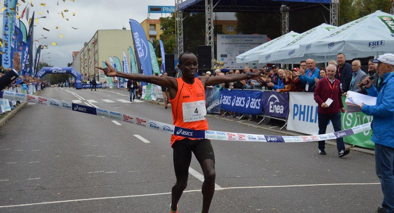 BIEGI, Kenijczyk zwycięzcą Półmaratonu Signify Philips [ZDJĘCIA] - zdjęcie, fotografia