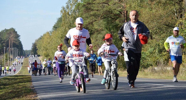 BIEGI, Biegiem marszem rolkach sobotę Jesieni - zdjęcie, fotografia