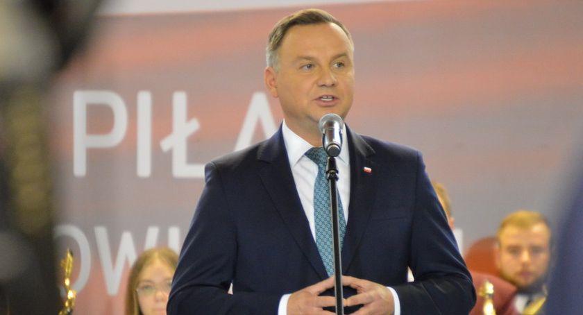 POLITYKA, Prezydent Andrzej apelował udział wyborach [ZDJĘCIA] - zdjęcie, fotografia