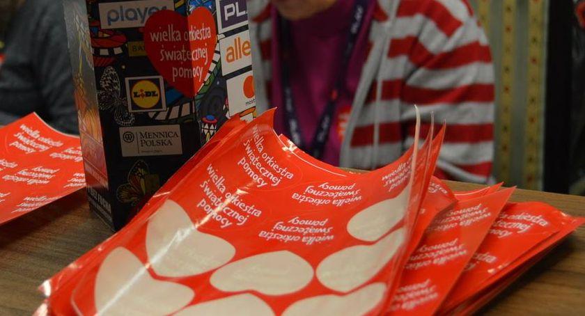 WOŚP 2020, Drugi sztab WOŚP nabór wolontariuszy - zdjęcie, fotografia
