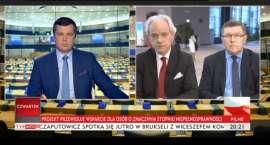 Szejnfeld wyszedł ze studia w trakcie programu TVP Info [VIDEO]