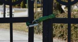 Park Miejski w Pile (znów) zamknięty