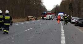Karambol na DK11. Siedem aut uszkodzonych [ZDJĘCIA]