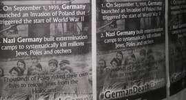 Wszechpolacy z Piły oplakatowali Berlin