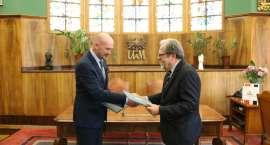 PWSZ i UAM zacieśniają współpracę