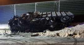 Kolizje i wypadek na DK10. Jedna osoba nie żyje [ZDJĘCIA]