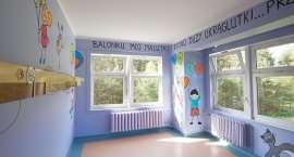 Kolorowa sala gotowa na przyjęcie małych pacjentów [ZDJĘCIA]