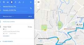 Rozkład jazdy pilskiego MZK w Google Maps