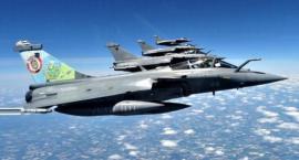 Ryk samolotów nad Piłą