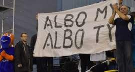 """""""Albo my, albo Ty"""". Kibice Nafty przeciwko prezesowi [ZDJĘCIA]"""