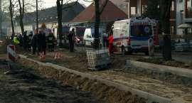 Dziecko w kanale burzowym? Akcja ratunkowa przy ul. Kossaka