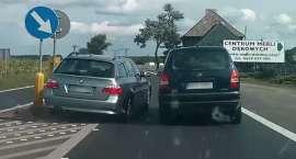 Policja szuka pirata z BMW [VIDEO]